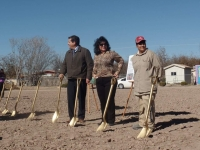Groundbreaking in Anthony