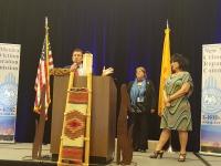 Representative Gallegos recognized for victims of crime legislation.