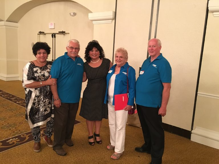 Representative Gallegos meets with AARP members